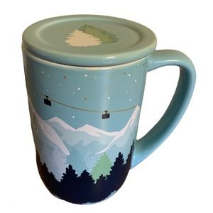 David's Tea Blue Mountain Ski Hill Nordic Mug